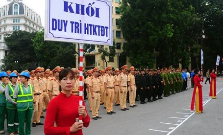 Hà Nội ra quân đảm bảo trật tự đô thị, trật tự giao thông