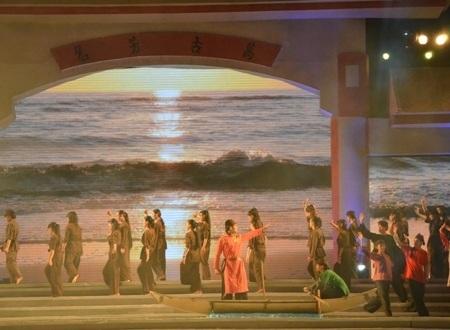 Ngày Trương Định ra đi theo cha vào Nam lập nghiệp.