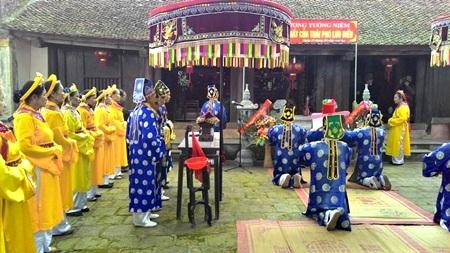 Lễ tưởng niệm công thần khai quốc Lưu Điều.