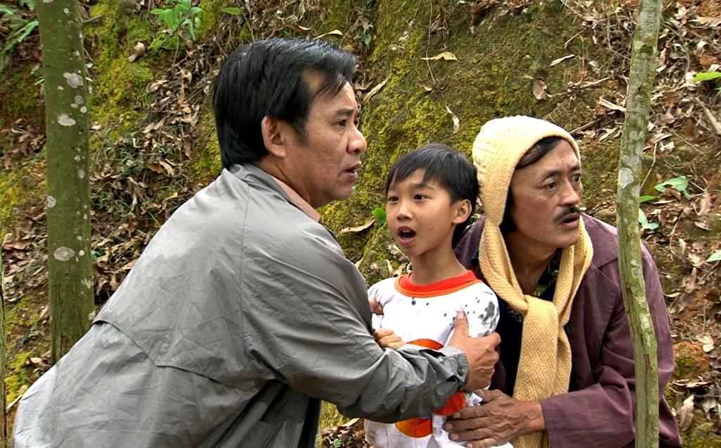 Đức Vĩnh vào vai con trai nghệ sỹ Quang Tèo.