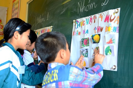 Dự án được thực hiện bởi tổ chức Giấc mơ Việt Nam tại