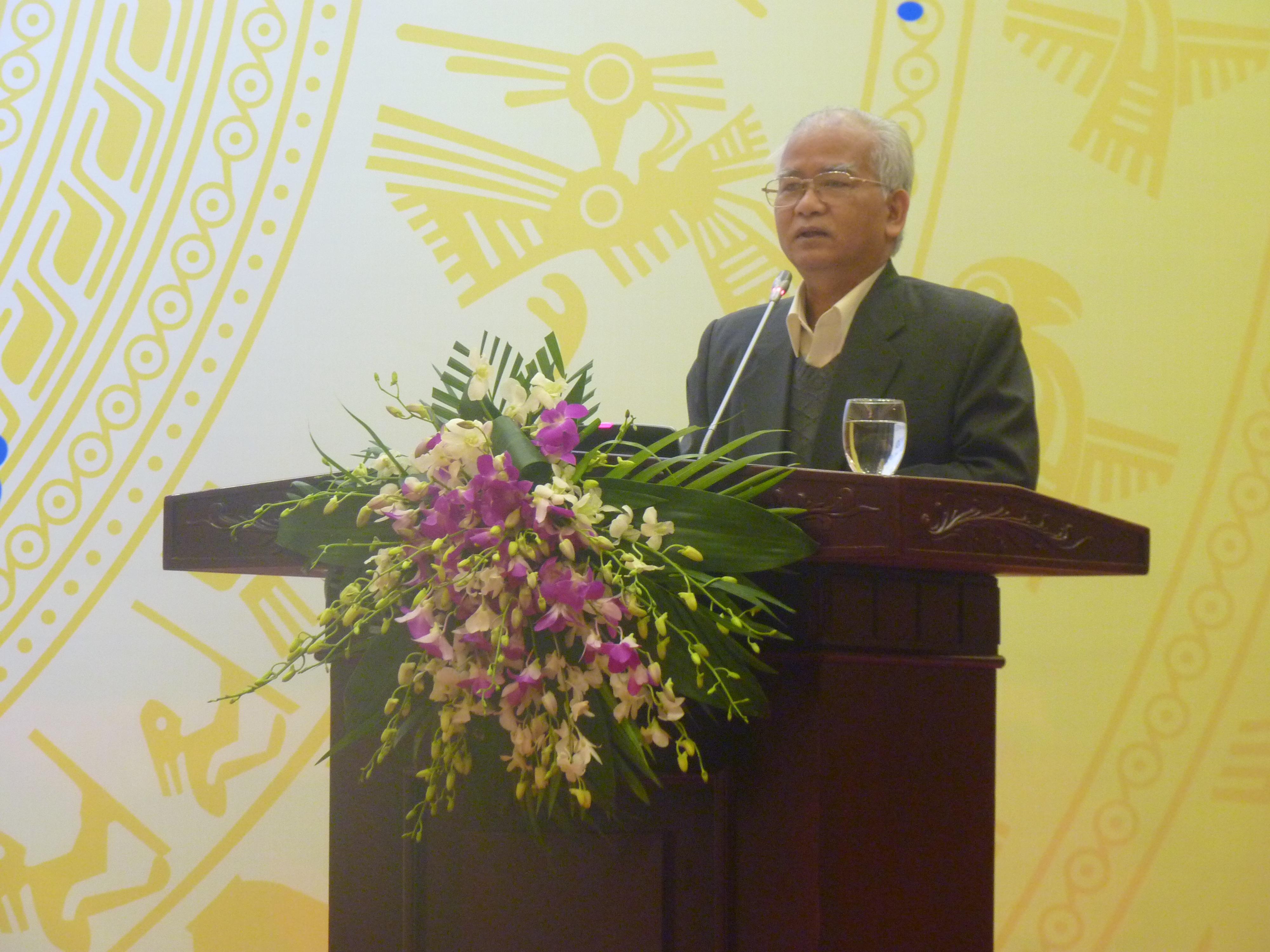 Ông Ksor Phước - Chủ tịch Hội đồng Dân tộc của Quốc hội.