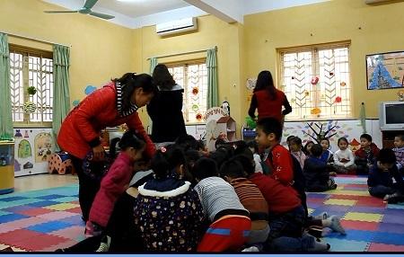 Số lượng giáo viên mầm non trong biên chế tăng nhanh.