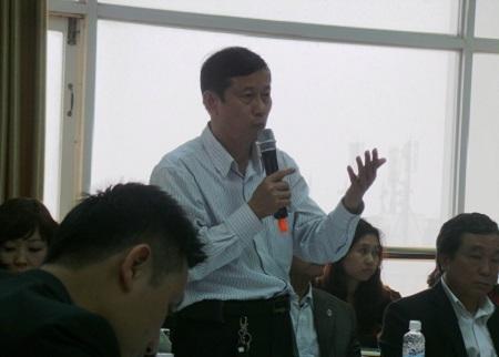 Ông Lê Tuyển Cử - phó Vụ trưởng Vụ Quản lý các khu kinh tế.
