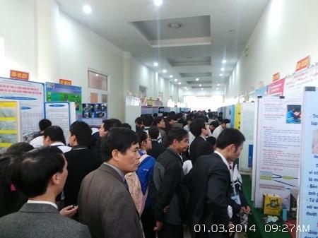 Cuộc thi đã trở thành một hội chợ thực sự về những ý tưởng khoa học kỹ thuật.
