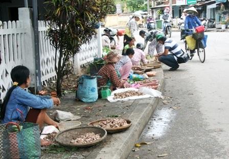 Mùa nấm tràm trên đường phố Huế - 3