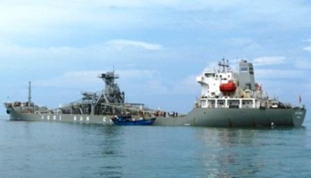 Tàu hàng Nghi Sơn bị xử phạt và buộc bồi thường hơn 1,3 tỷ đồng