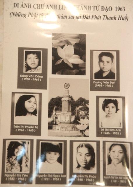 Có những em bé còn rất nhỏ tuổi là nạn nhân