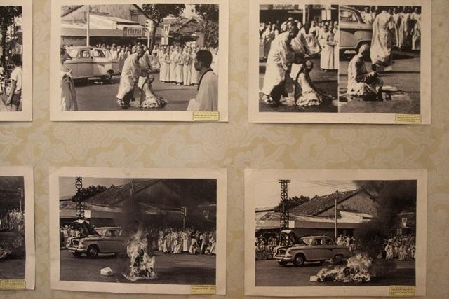 Hàng trăm Tăng Ni bị bắt giữ tại An Dưỡng Địa, khi được thả và đưa về chùa Xá Lợi ngày 20/7/1963