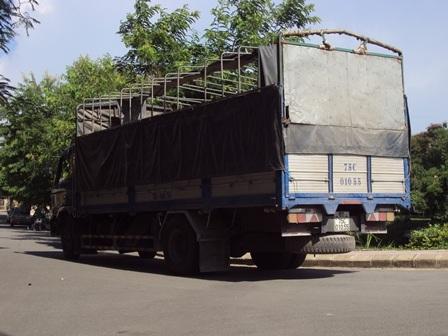 Chiếc xe tải gây ra tai nạn thương tâm