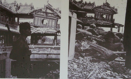 Hình ảnh kinh thành Huế sau những chặng đường bị tàn phá