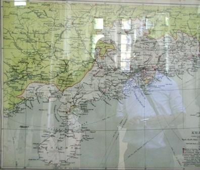 Bản đồ Chinese Empire do Business Atlas, Rand McNally xuất bản tại Chicago (Mỹ) năm 1904