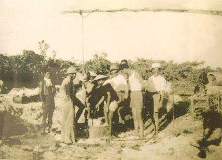 Toàn cảnh đảo Hoàng Sa (Pattle Island) chụp năm 1938, tư liệu của UBND huyện Hoàng Sa, TP Đà Nẵng