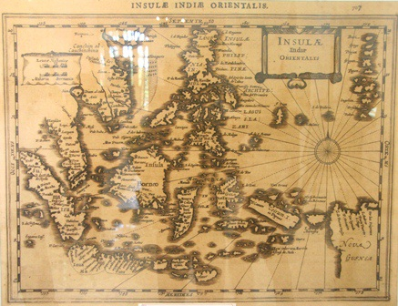 Bản đồ Asia in Praecipuas Ipsius Partes Distributa do Van der AA thực hiện năm 1594