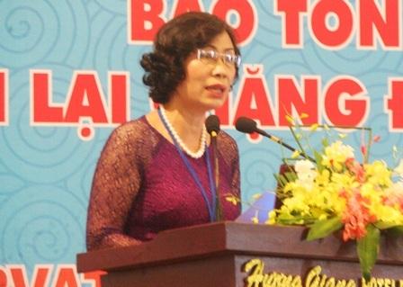 Bà Đặng Thị Bích Liên, Thứ trưởng Bộ VH,TT&VL
