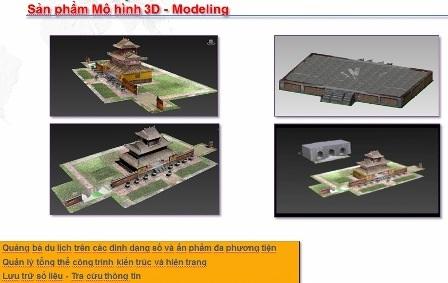 Mô hình 3D của khu vực hiện lên với độ chính xác rất cao, từ 1-3mm