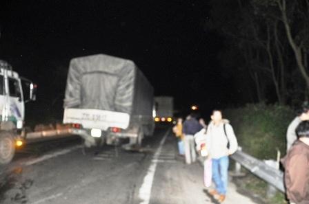 18 hành khách may mắn thoát nạn trong xe khách đứng trên đèo vẫn chưa hết nỗi sợ hãi