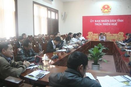 Cuộc họp các đơn vị báo chí bảo trợ thông tin cho Festival Huế 2014