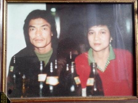 2 vợ chồng Huấn luận viên Đoàn Phùng những ngày hạnh phúc