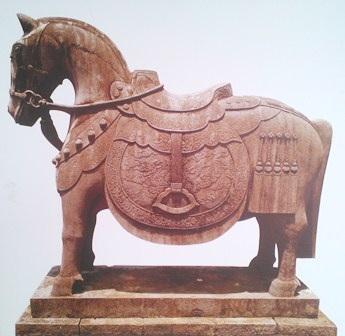 Ngựa đá lăng vua Minh Mạng