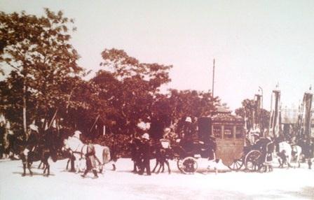 Xe ngựa trong lễ tế đàn Nam Giao
