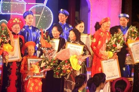 37 nghệ nhân được tôn vinh - khẳng định giá trị bất hủ qua thời gian của ca Huế