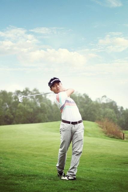 Đàm Duy Long còn là 1 tay golf rất cừ, đạt nhiều giải