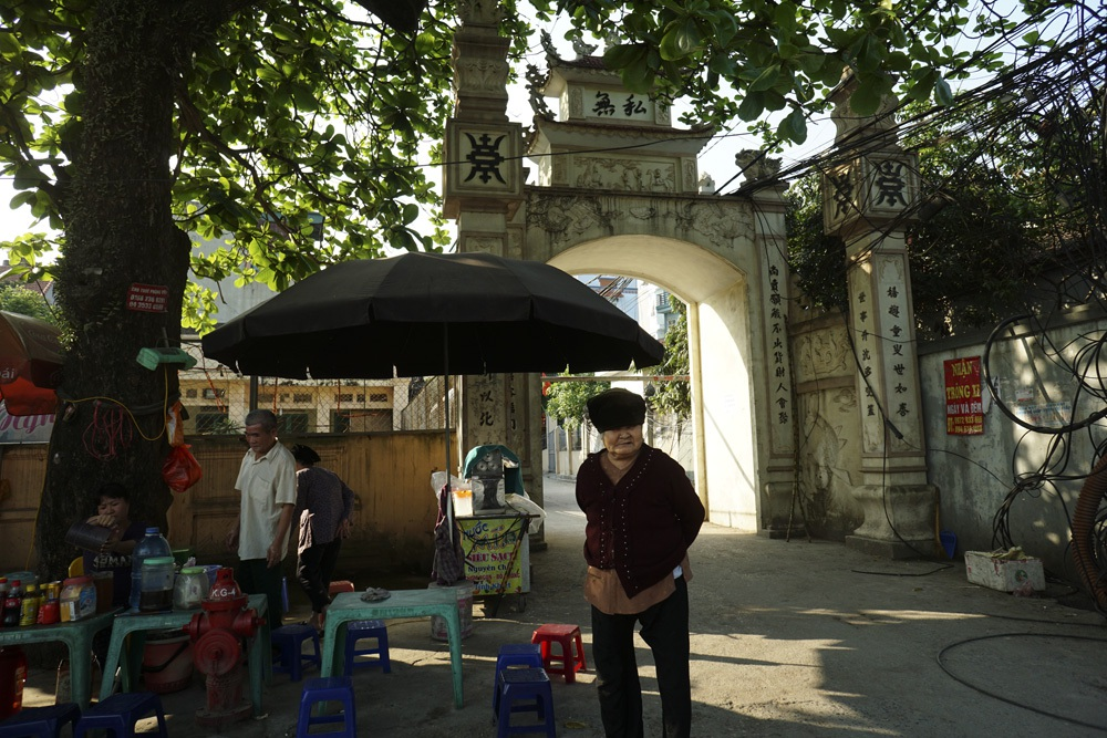 Cổng vào thôn Nội cũng là một cổng lớn của Thanh Liệt.