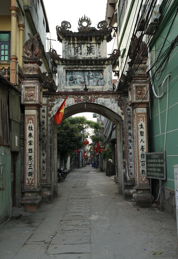 Ấn tượng những chiếc cổng làng ở vùng ven Hà Nội