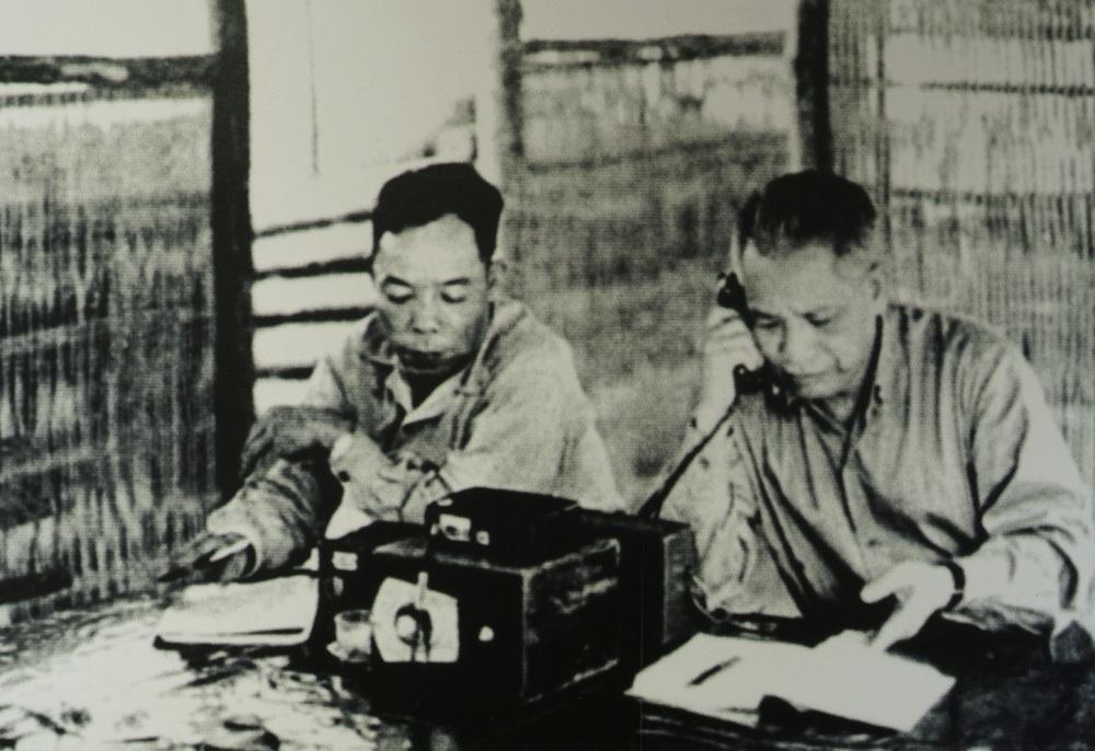 Đại tướng Văn Tiến Dũng điện báo tin chiến thắng Tây Nguyên tháng 3/1975.