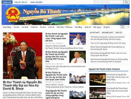Ông Nguyễn Bá Thanh có thể kiện người lập trang web mạo danh mình - 1