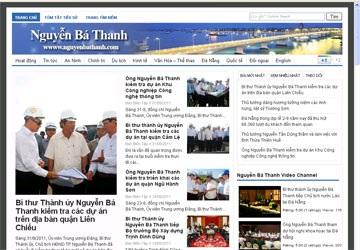 Truy xét trang web mạo danh Bí thư Thành ủy Đà Nẵng - 1