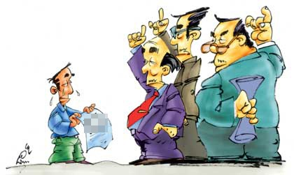 Lãnh đạo nhiều hơn nhân viên (Tranh minh họa)