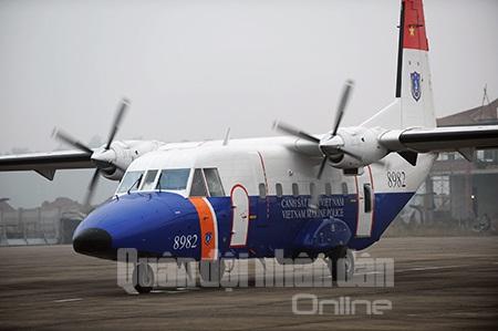 Đây là chiếc máy bay CASA-212-400 thứ hai được tiếp nhận.