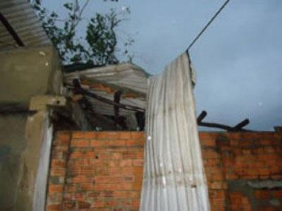 Gần 10 học sinh thoát nạn trong căn nhà bị cây cổ thụ đè sập