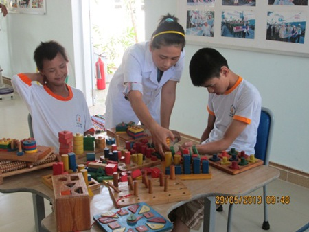 Trẻ khuyết tật đang phải đối mặt nhiều thách thức