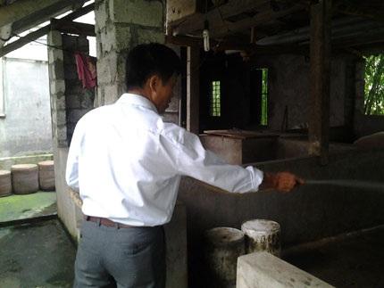 Hiện tại, anh Thái đang kinh doanh phòng trọ và chăn nuôi lợn.