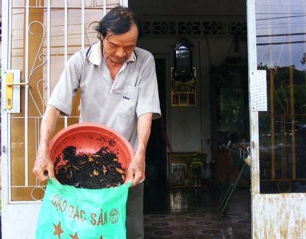 Bọ đen ở Đồng Nai