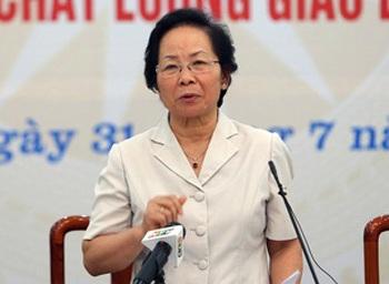 """Phó Chủ tịch nước Nguyễn Thị Doan thẳng thắn: Mỗi ngày người ta """"ăn"""" từng tí của dân"""