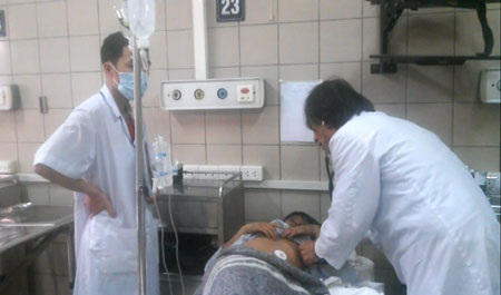 Các bệnh nhân đang được điều trị tích cực