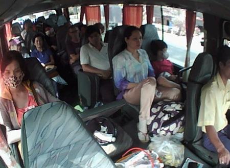 Hình ảnh hành khách trên xe trước khi vụ tai nạn thảm khốc xảy ra