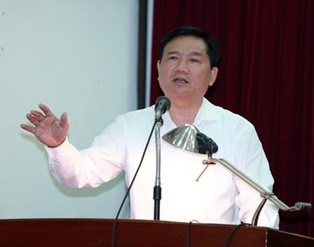Bộ trưởng Bộ GTVT Đinh La Thăng