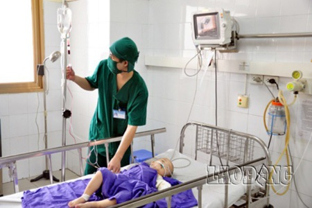 Cháu Vương trong bệnh viện