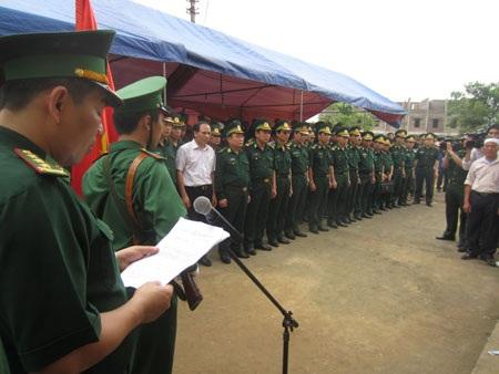 Truy điệu chiến sĩ biên phòng hy sinh trong vụ 16 người Trung Quốc xả súng
