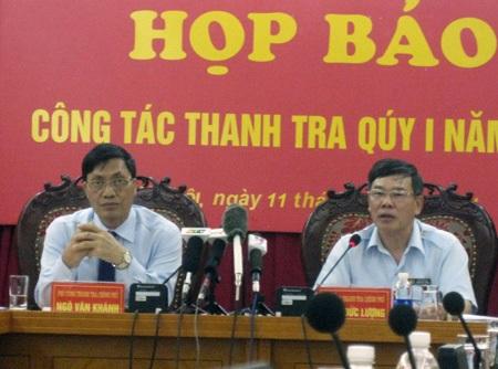 Thanh tra Chính phủ nhận khuyết điểm vì bổ nhiệm cán bộ tràn lan