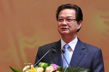 Thủ tướng Chính phủ nước Cộng hòa xã hội chủ nghĩa Việt Nam Nguyễn Tấn Dũng