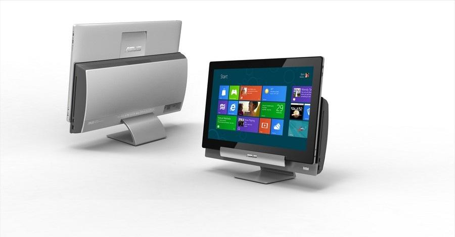 Asus Transformer AiO- máy tính bàn có thể tách rời màn hình .