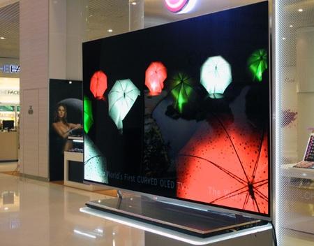 Mẫu TV sử dụng màn hình OLED công nghệ 4 colour pixel WRGB