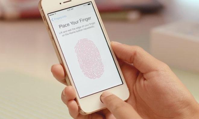 Hệ thống nhận dạng dấu vân tay Touch ID