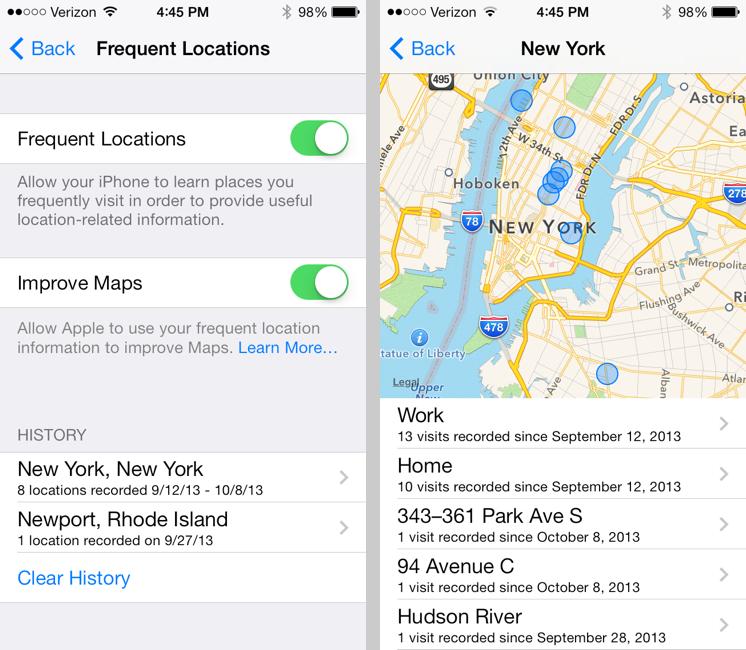 Thêm 8 tính năng độc đáo bên trong iOS 7